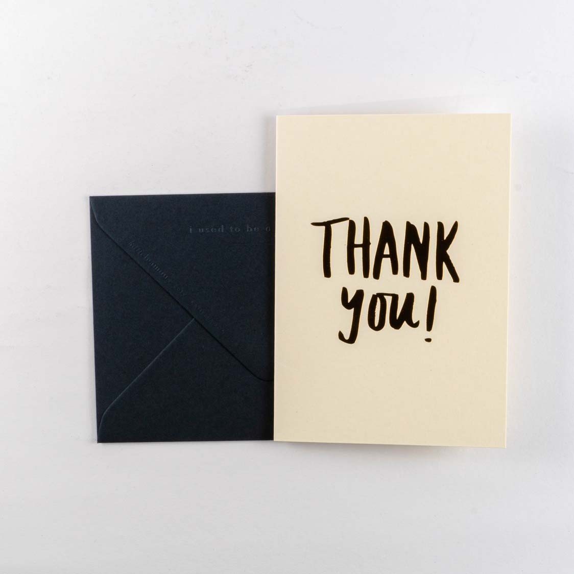 Greeting Card -Extract Thank You
