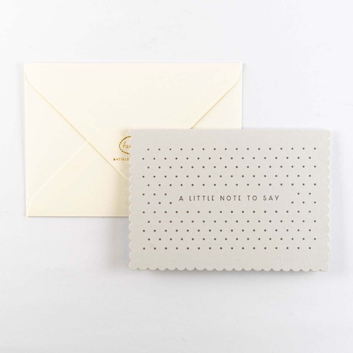 Greeting Card -Luxe Little Note