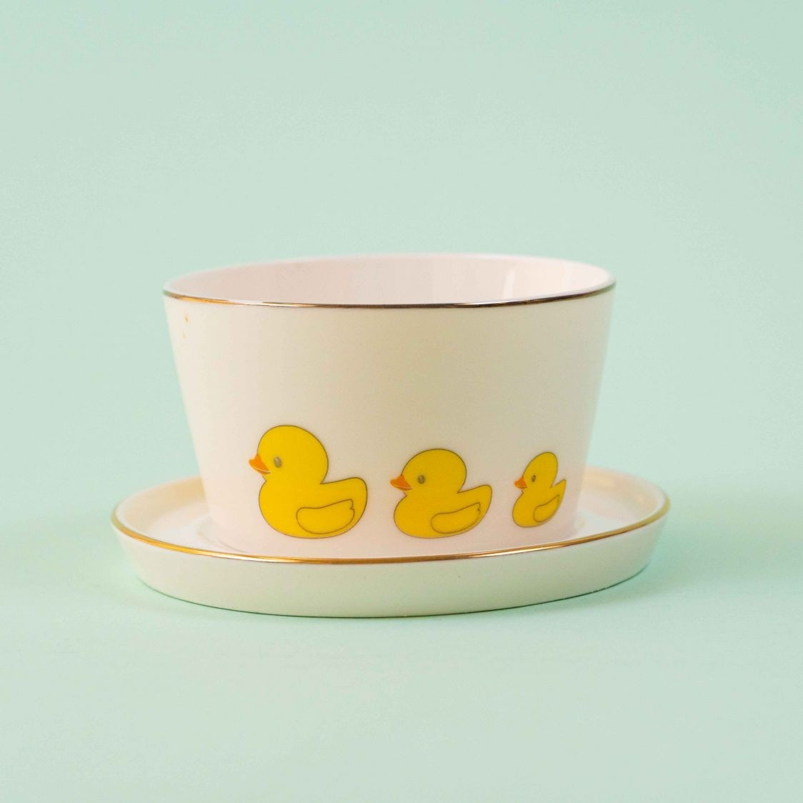 BOWL MEGHLE WITH SAUCER DUCKS - SINGLE