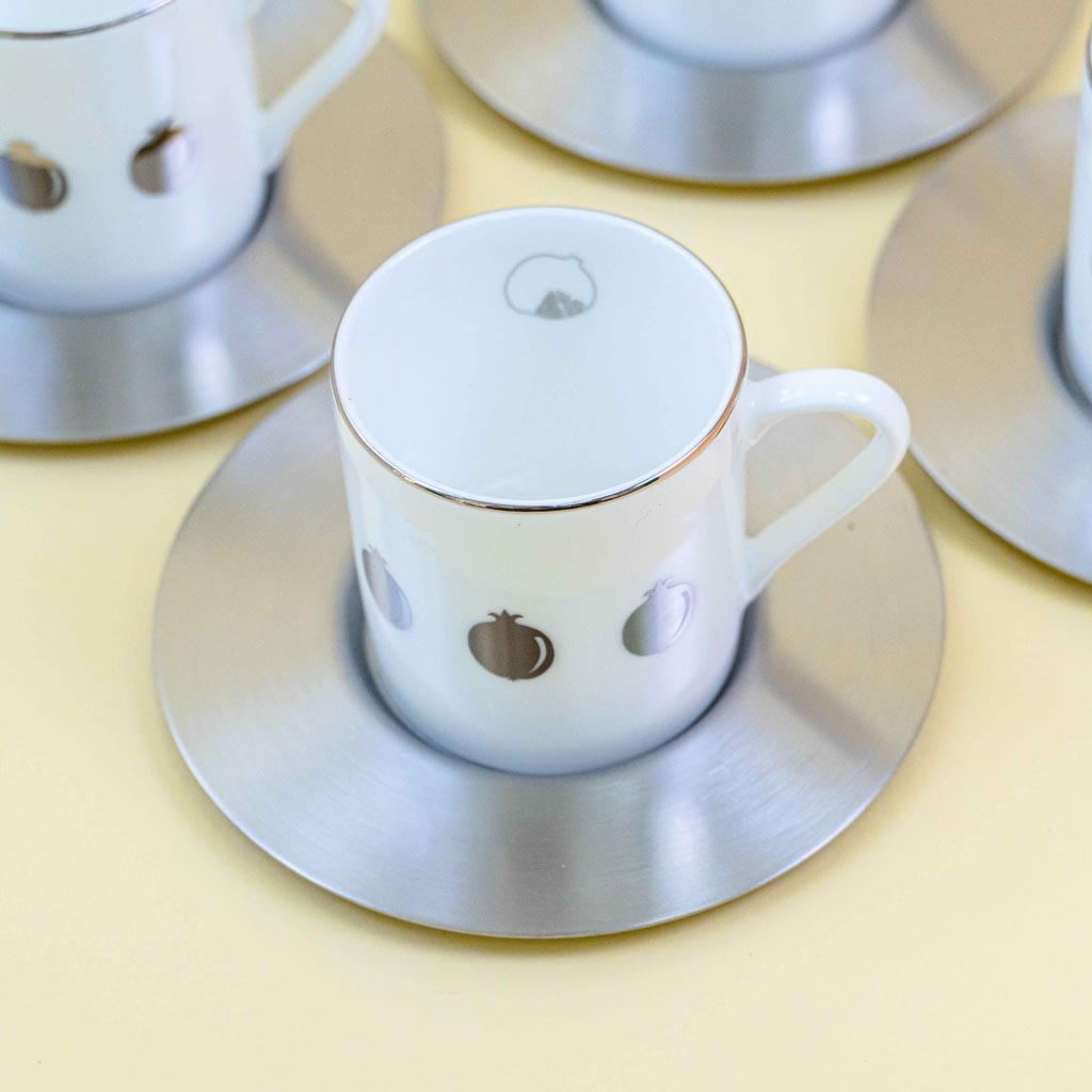 ESPR. CUP With SAUCER PMG MSF Set 6