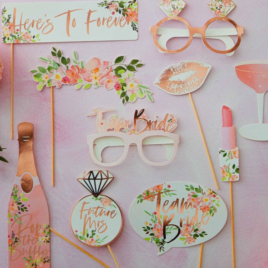 Floral Hen Party -Photo Booth Props