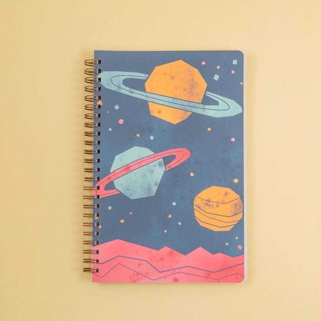 Space Planets Notebook