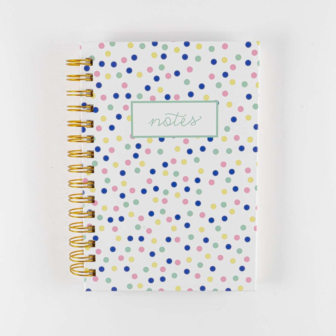 SMALL PASTEL DOTS HARD COVER JOURNAL
