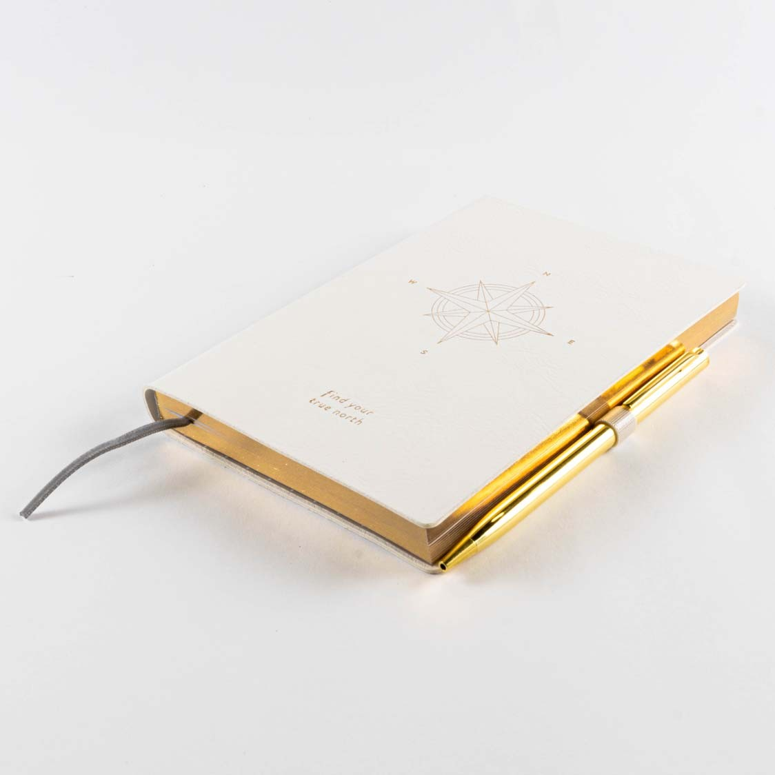 TN COMPASS FAUX LEATHER JOURNAL with PEN