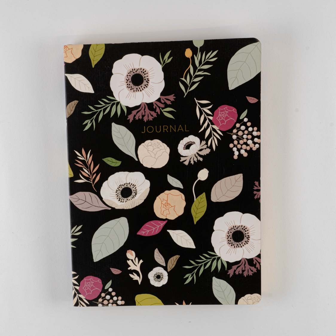 ANEMONE CHARCOAL-MD SOFT COVER JOURNAL