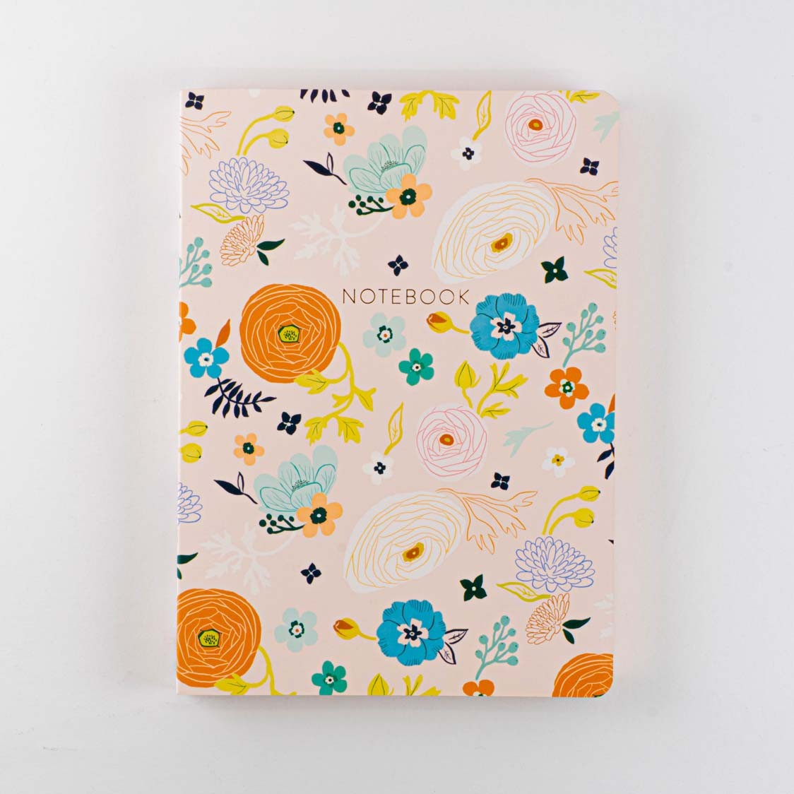 RANUNCULUS TOSSED-MD SOFT COVER JOURNAL