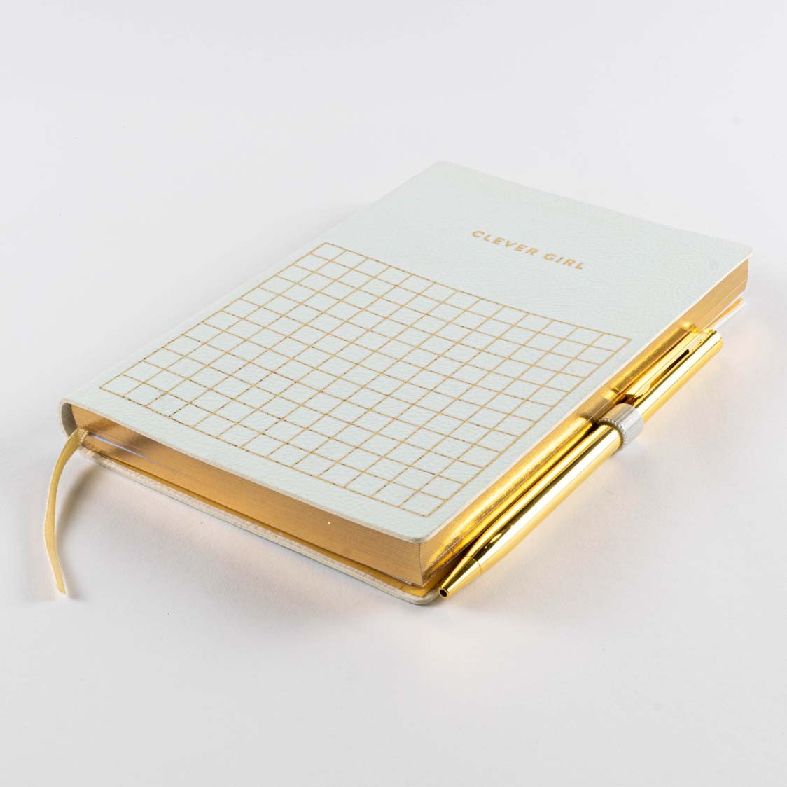 PAS CLEVER JOURNAL with SLIM GOLD PEN