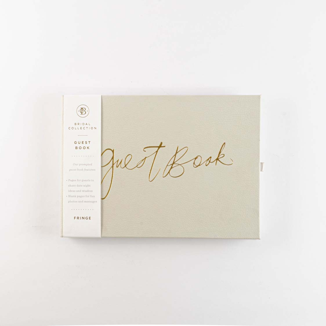 GUEST BOOK GRAY FAUX LEATHER HARDDCOVER G