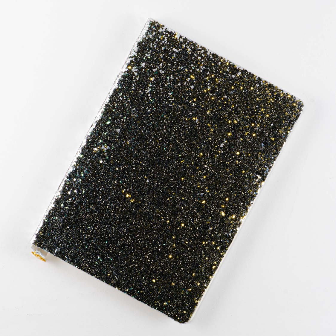 All That Glitters - A5 Notebook - Sequin Silver
