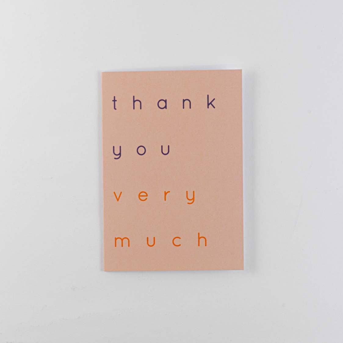 Greeting Card -THANK YOU VERY MUCH